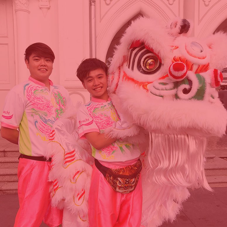 The Singapore Southern Lion Dance