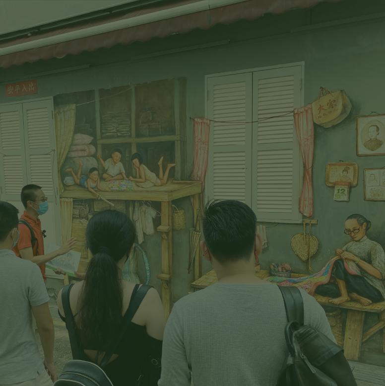 Tea Merchant & Street Art Tour