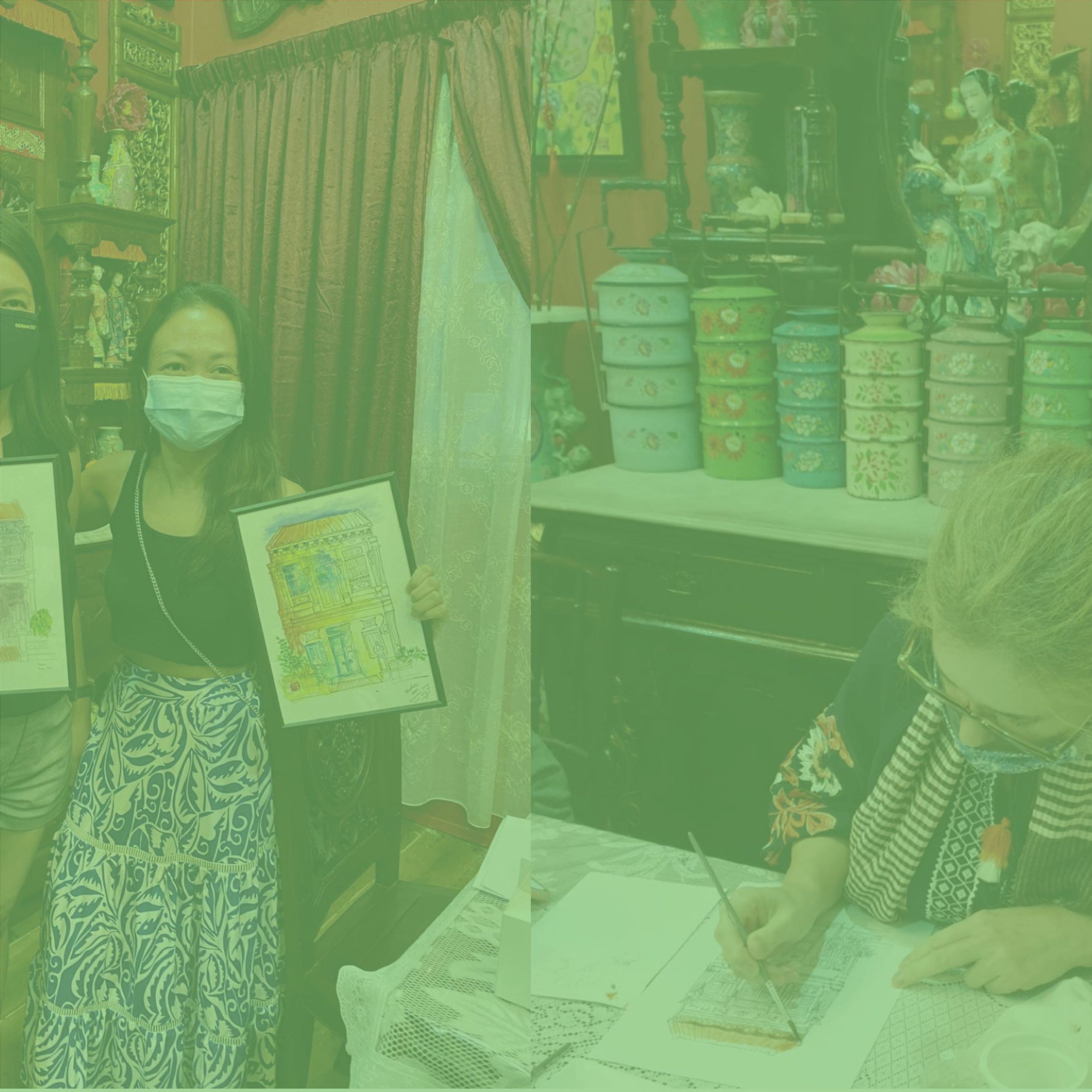 Peranakan Discoveries : The Art of Shophouse Painting