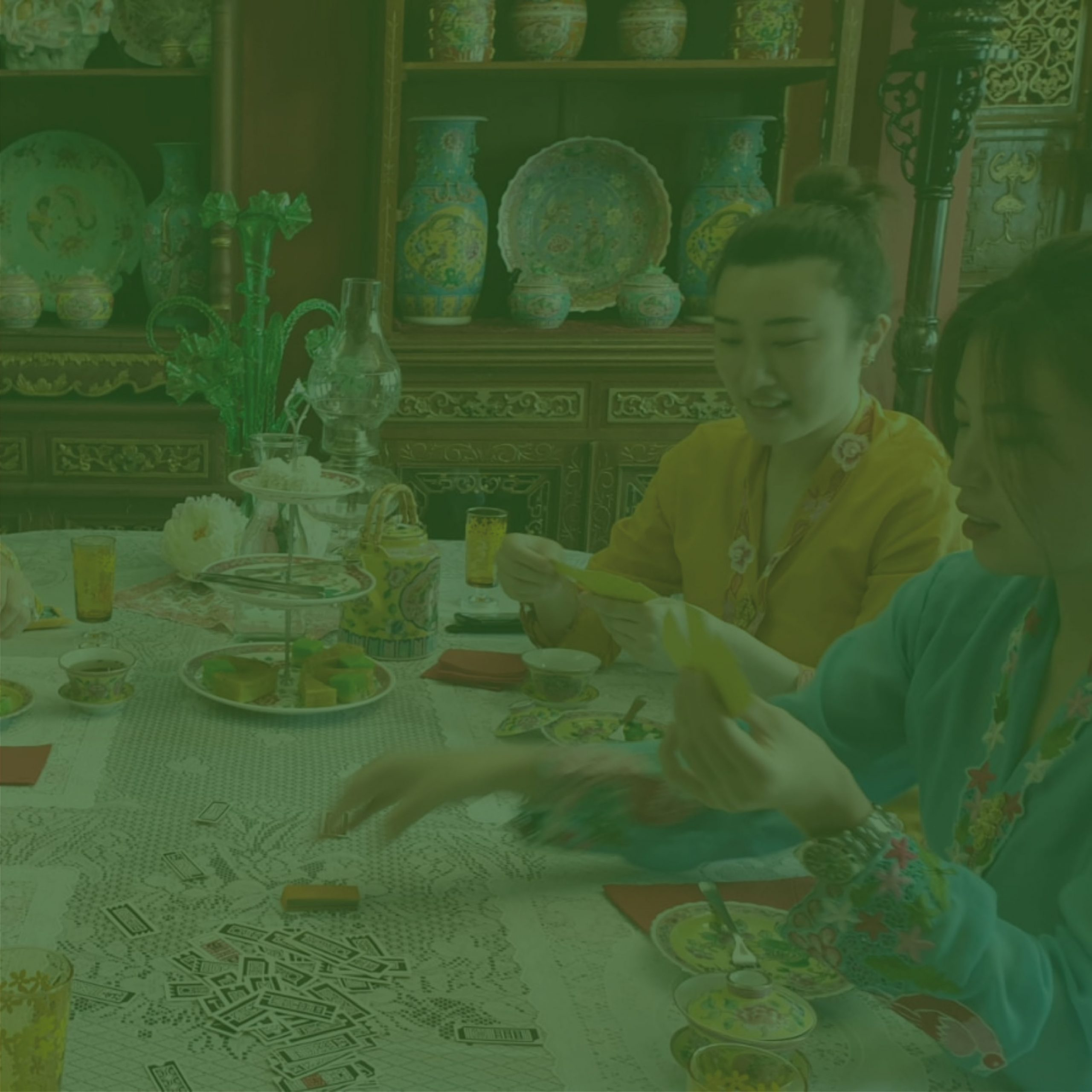 Peranakan Discoveries : The Lost Game of Cherki